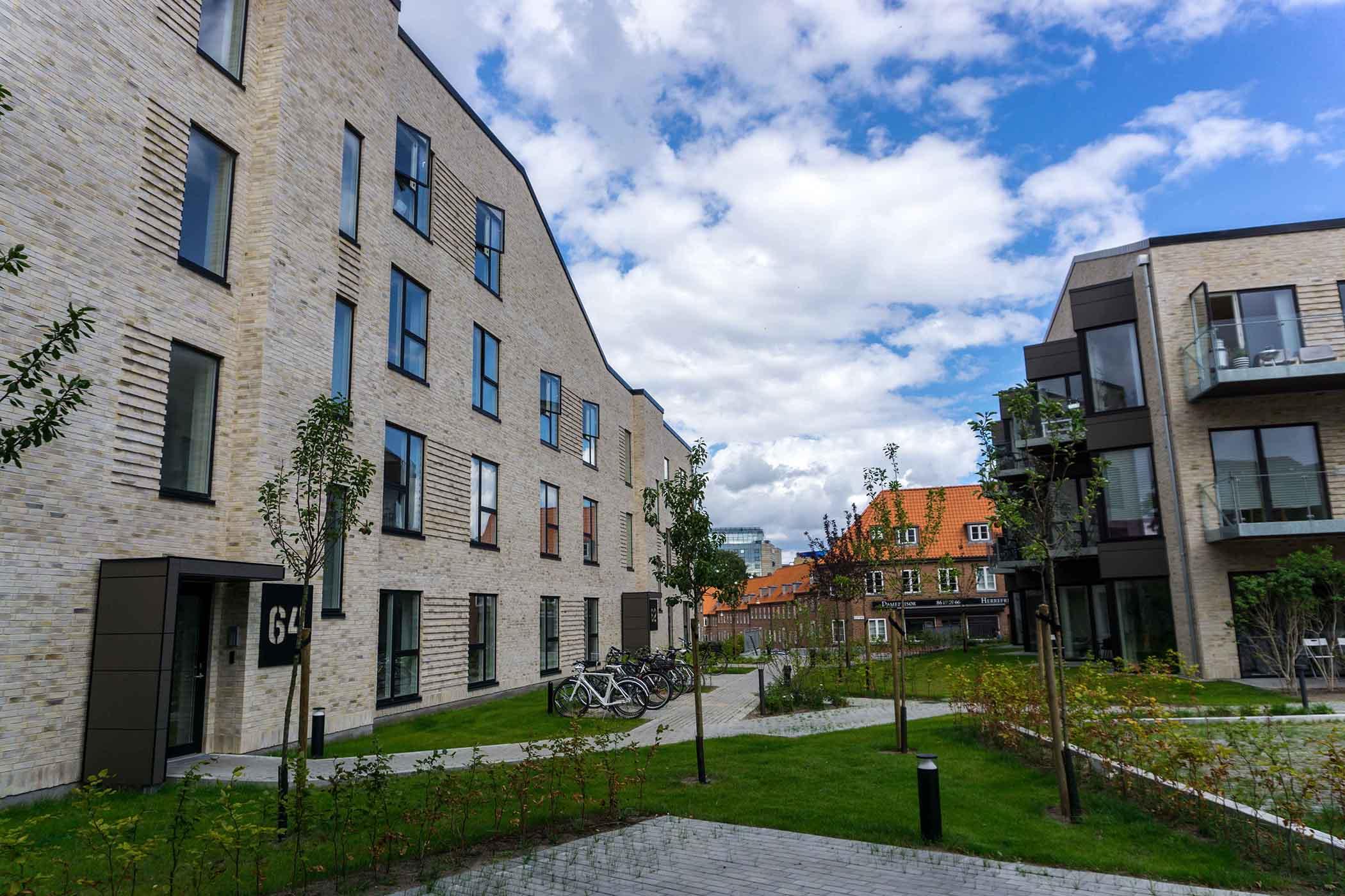 Valdemarsgade 60-64 - Grønt område